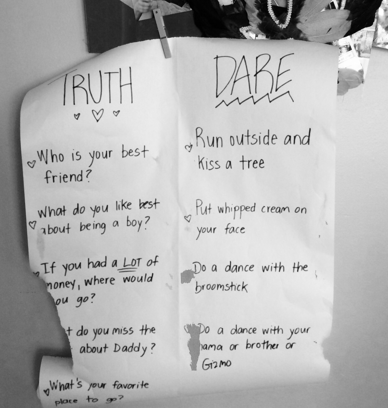Easy dares for truth or dare